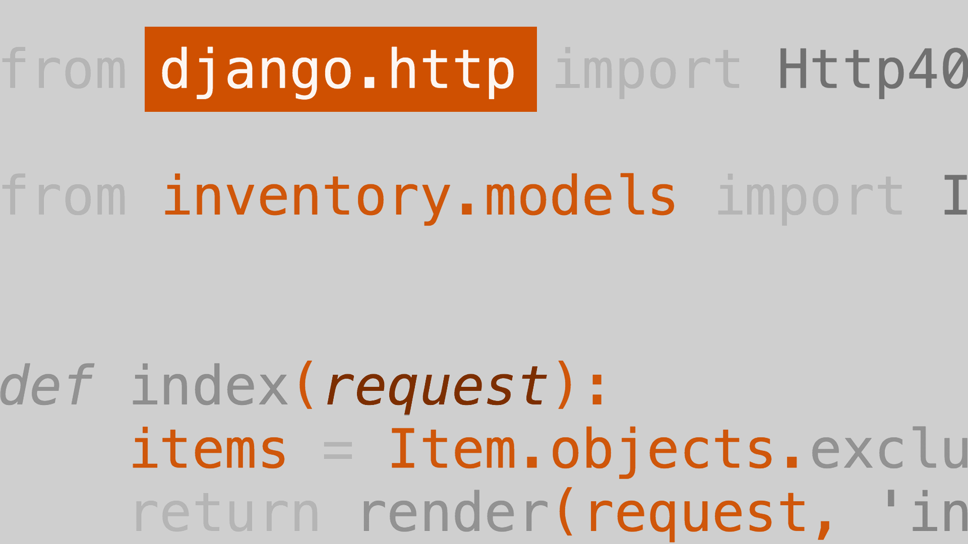 Lynda > Learning Django
